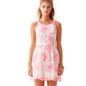 Lilly Pulitzer Darcelle Pink Floral Dress